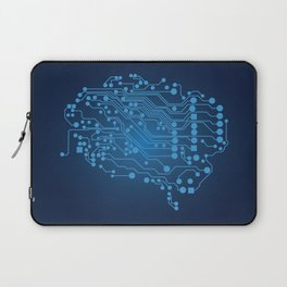 Electric brain Laptop Sleeve