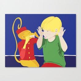 Monkey See, Monkey Do Canvas Print