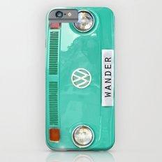 Wander wolkswagen. Summer dreams. Green Slim Case iPhone 6s
