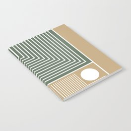 Stylish Geometric Abstract Notebook