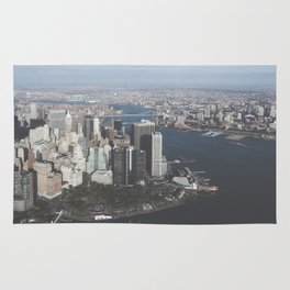 NYC Downtown Aerial Rug
