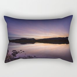 Pahranagat National Wildlife Refuge Sunset #2 Rectangular Pillow