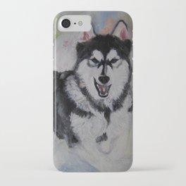 snow pup iPhone Case