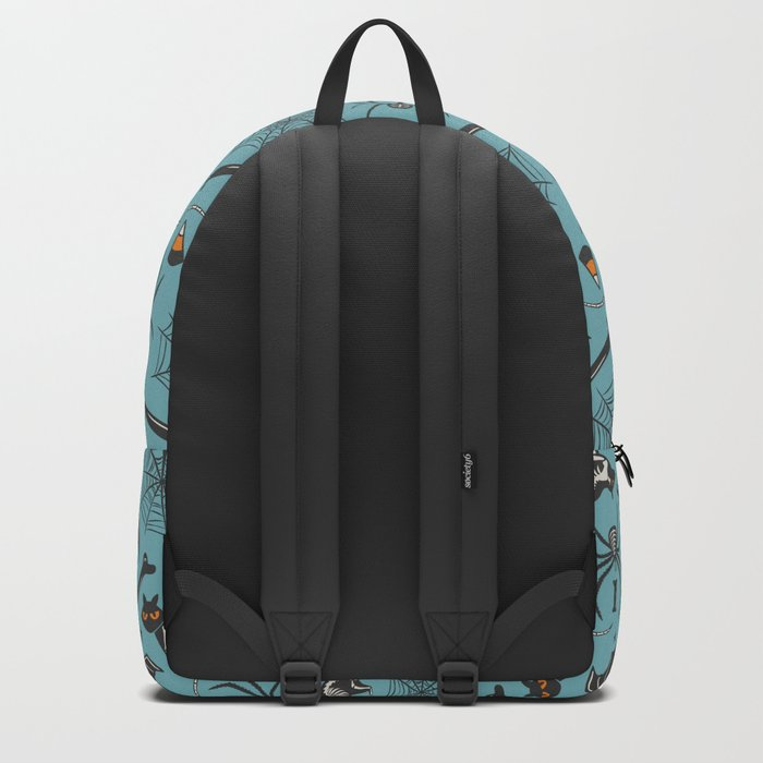 Halloween X-Ray Blue Backpack