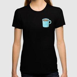 Blue Enamel Coffee Mug T-shirt