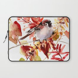 Bird and The Fall Laptop Sleeve