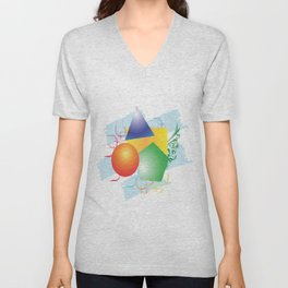 Colormix Unisex V-Neck