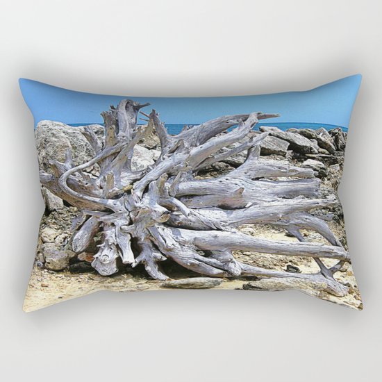 Bermuda  Driftwood Rectangular Pillow