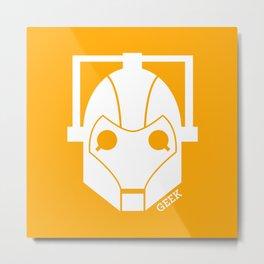 Cyberman ! Metal Print