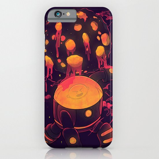 Super Heroic Pose iPhone & iPod Case