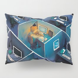 SICK AT THE OFFICE Pillow Sham