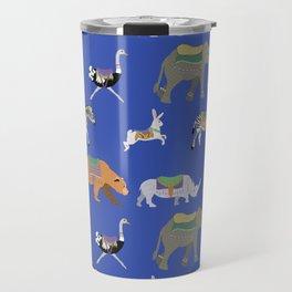 Carousel Animals Travel Mug