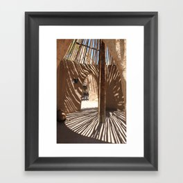 Albuquerque Zoo  Framed Art Print
