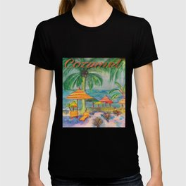 Cozumel A Day At The Beach T-shirt
