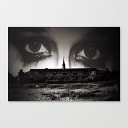 The Way Out Of The Room Canvas Print