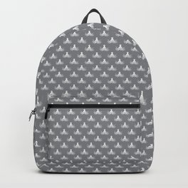 Octopus | Vintage Octopus | Tentacles | Grey and White | Backpack
