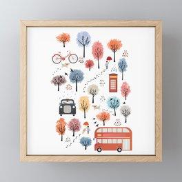 London transport Framed Mini Art Print