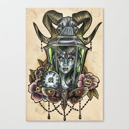 Zombie tattoo design Canvas Print