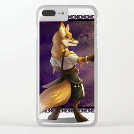 Scarlet the Bandit King Clear iPhone Case