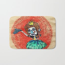 Ugly princess is looking for love Bath Mat