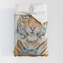 Too Early Tiger Comforters