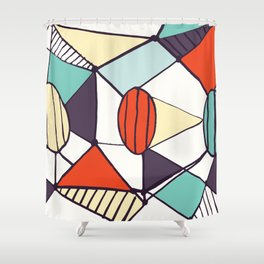 Pica Shower Curtain