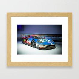 Ford GT 2017 Framed Art Print
