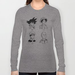 Japan guys Long Sleeve T-shirt