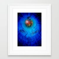 freedom Framed Art Prints featuring Freedom by Walter Zettl