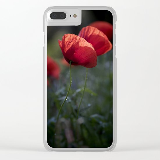 There is always a light in the dark Clear iPhone Case