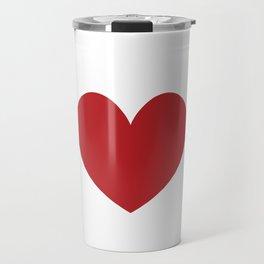 Card Poker Ace Heart Game Gambling Gift Travel Mug