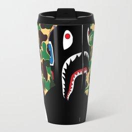 Bape Shark Patten Travel Mug