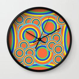 Mod - Colorful Circles Wall Clock