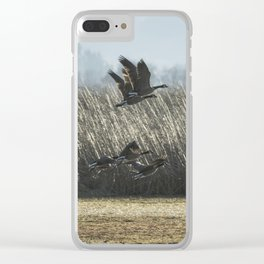 The Takeoff, No. 5 Clear iPhone Case