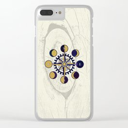 Solar Compass Clear iPhone Case