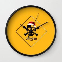 marry christmas walter white danger toxic i phone duvet cover tote bag Wall Clock