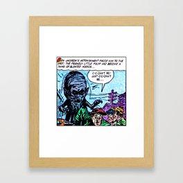 The Friendly Little Polyp Framed Art Print