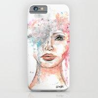 Watercolor Portrait iPhone 6s Slim Case