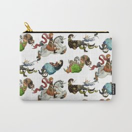 Magicians and their pets -pattern- Carry-All Pouch
