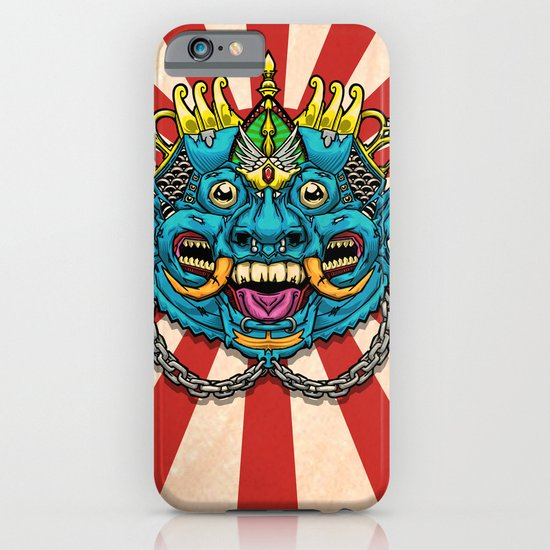 Justice Barong Mask iPhone & iPod Case