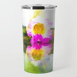 Orchid reflection Travel Mug