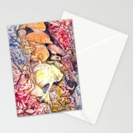 Dreaming the sea Stationery Cards