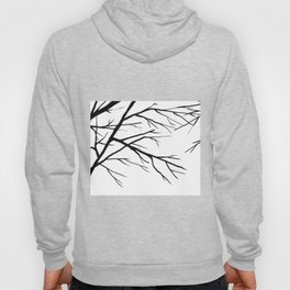 Winter branches Hoody