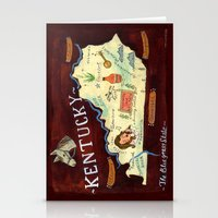 kentucky Stationery Cards featuring Kentucky by Christiane Engel