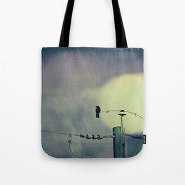 City Crow - Dark Crows Series Tote Bag