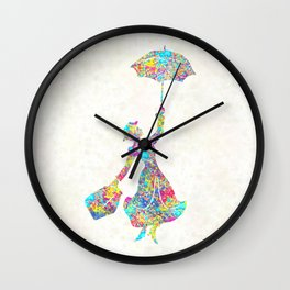 Mary Poppins - The Magical Nanny Wall Clock