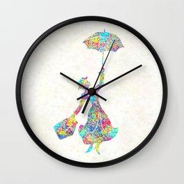 Mary Poppins - The Magical Nanny Wall Clock