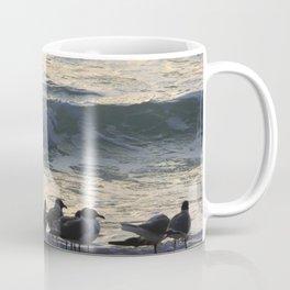 Gathering by the Seashore Coffee Mug