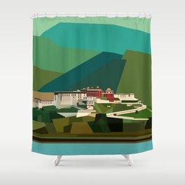 Potala Palace, Lhasa, Tibet, China Shower Curtain