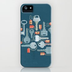 Old-Fashioned Slim Case iPhone (5, 5s)